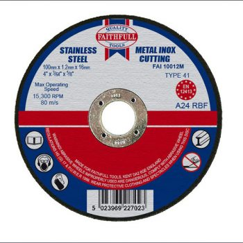 CUT OFF DISCS – FOR METAL