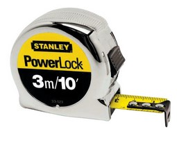 STANLEY TAPE MEASURES POWERLOCK