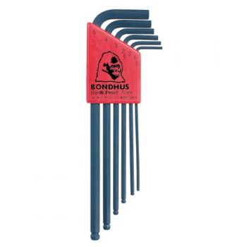 BALL END HEX KEY SET – 6pc (1.5-5mm)